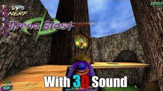 Nerf Arena Blast w/ EAX & 3D spatial sound ? (OpenAL Soft HRTF audio)